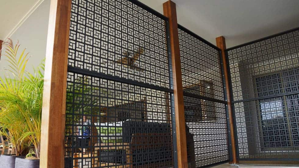 Decorative Security Walls
