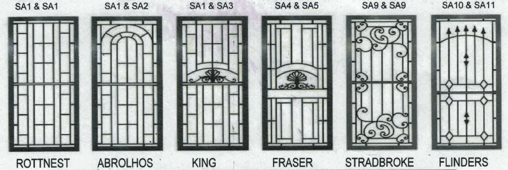 Decorative Security Doors